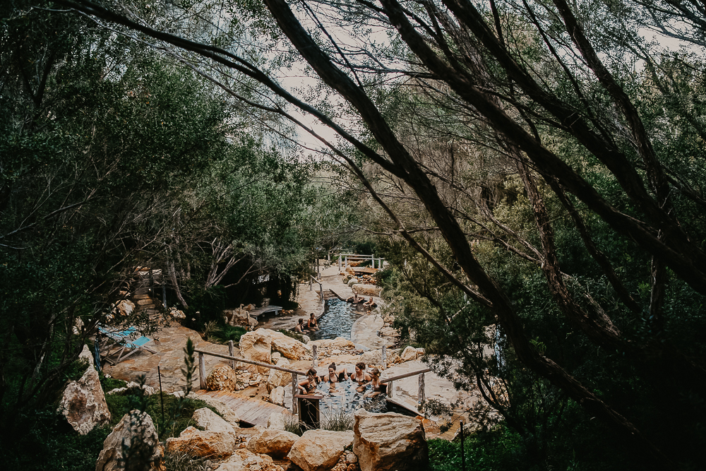 Partners with Peninsula Hot Springs