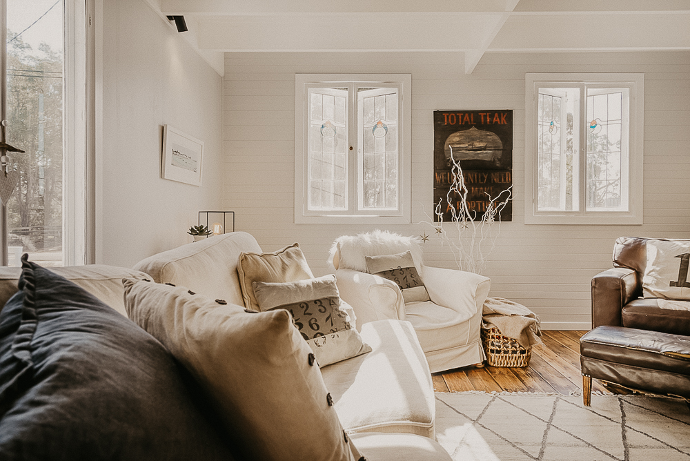 Property styling by Zhush-it at The Oar House